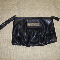 Simply Vera Wang Black Chain Accent Clutch Pocketbook Photo