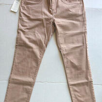 Simply Vera Wang Jeans Blush Peach Pink Women's Stretchy Skinny Ankle Size 2 New Photo