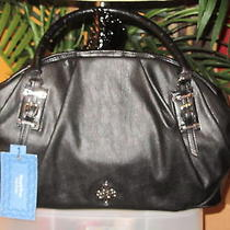 Simply Vera Wang Nwt 89 Thalia Black Women's Handbag Purse Tote Photo
