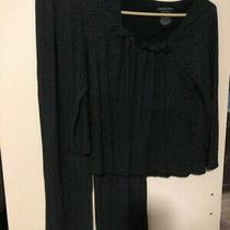 Simply Vera Wang Pajama Set Black With Dots  Photo
