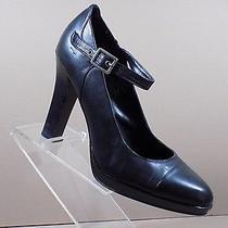 Simply Vera Wang Platform High Heels With Buckle Black Women Shoes  Sz 7.5 M Photo