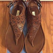 Simply Vera Wang Svtarencognac Sandal Size 10 Photo
