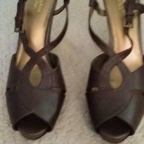 Simply Vera Wang Women's Brown Platform High Heeled Shoes Size 9 - Brand New Photo