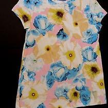 Simply Vera Wang Womens Petite Small Ps Floral Tshirt Shirt Tee New Photo