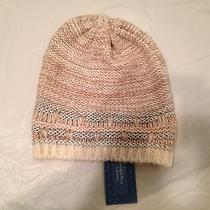 Simplyvera Vera Wang Women Tan Silver and White One Size Winter Hat Photo