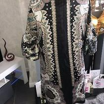 Single Dress Silk Tunic Ruffle Sleeve Shift Scarf  Dress Size S Camilla  400 Photo