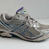 Single Replacement Running Right Shoe Only Asics White Blue Size 8.5 Photo