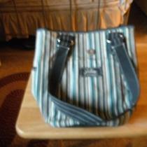 Sisters  by Longaberger Bucket Handbag Fabric Purse & Cell Phone Holder Photo