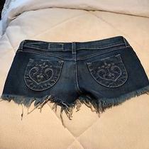 Siwy Denim Shorts Size 25 Camilla Brand New W/tags Slouchy Cut Off Photo