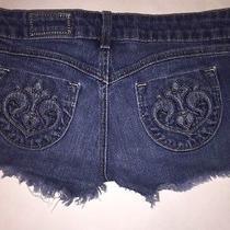 Siwy Denim Shorts Size 25 Camilla Slouchy Cut Off Photo