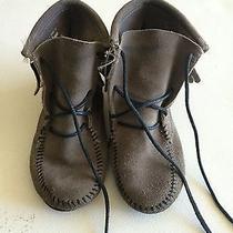 Size 1 Minnetonka Gray Booties Photo