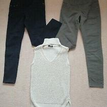 Size 10 to 12 Avon Jeggings  Jane Norman Knitted Top Photo