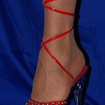 Size 11 Costume Vegas Shoes Heels Stripper Drag Diva Showgirl Dancer Swarovski Photo