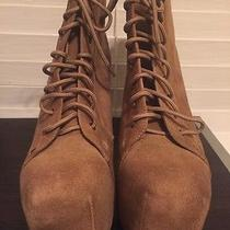 Size 11 Velvet Taupe Jeffrey Campbell Boots Photo