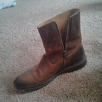 Size 12-Cool Like New Frye Dress Boots-Zip Up Photo
