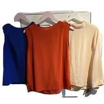 Size 12 Top Bundle Reiss Warehouse Red Blue Blush Office Smart Photo