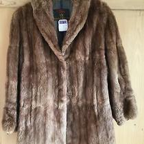Size 16/18 Woman Soft Real Fur Hudson Bay Company ( Mybe Mink )/ Jacket Photo