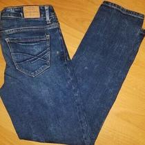 Size 2 Crop Jeans Aeropostale Skinny Bayla 28x27 Photo