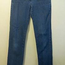 Size 2 Theory Women's Blue Denim Jeans (30.5