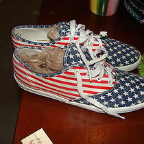 Size 3 American Flag Keds Photo