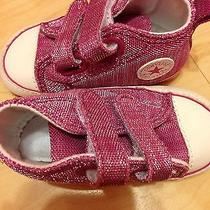Size 3 Infant Pink Converse Photo