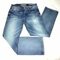 Size 32/30 Guess Desmond Relaxed Fit Straight Jeans Photo