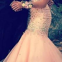 Size 4 Blush Mori Lee Homecoming/prom Dress Photo