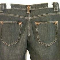 Size 6 Elie Tahari Women's / Juniors Gray Denim Jeans (Macy's) Photo