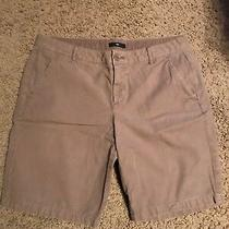 Size 6 - Gap Women's 100% Cotton Casual Washed Brown Shorts Photo