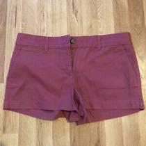 Size 8 Ann Taylor Loft Pink Salmon Color Shorts Photo