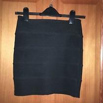 Size 8 Black Topshop Stretch Miniskirt Photo