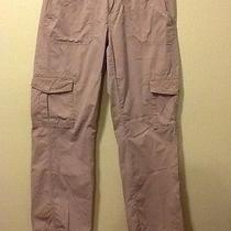 Size 8 Calvin Klein Women's Pink Blush Casual Cargo Pants (31