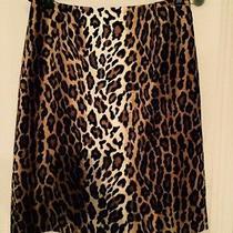 Size 8 Moschino Cheap and Chic Leopard Plush Pencil Skirt  Fabulous Photo