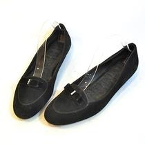 Size 9.5 - Coach - Black Suede Casual Cute Ballet Flats Slip on Loafer Fashion Photo