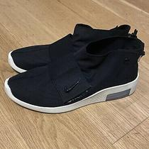 Size 9.5- Nike Air Fear of God Moccasin Black At8086-002 Black Sneakers Men Shoe Photo