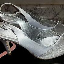 Size 9-Nina..freya Silver Heels Photo