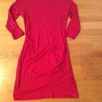 Size Express Women's Dress Tunic Size M Pink Form Fitting Photo