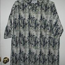 Size Large Columbia Fly Fish Fishing Shirt Mens Photo