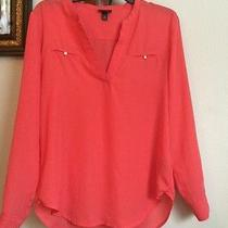 Size Small Popover Blouse Mossimo Forever 21 Rue21 Charlotte Russe Photo
