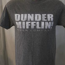Size Small the Office Dunder Mifflin Paper Company Heather Gray Ss T-Shirt Photo