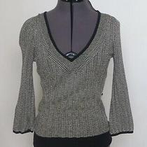 Size Xs Express Black and White Sweater Photo