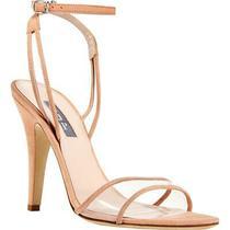 Sjp by Sarah Jessica Parker Womens Que Pink Dress Sandals 37 Medium (Bm) 5113 Photo