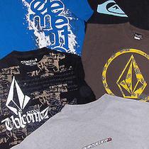 Skate Shirt Lot - Sz S Mens  - 5 Pc - Quiksilver Volcom Element Photo