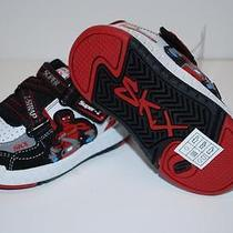 Skechers 91871n Skech Fighters Shoes Sneakers Black Red Kids Toddlers Boys 6 Nl Photo