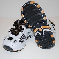 Skechers 95200n Good Sports Shoes Sneakers White Black Kids Toddlers Boys 6 Photo