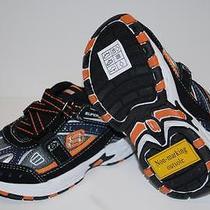 Skechers 95201n Z Strider Shoes Sneakers Black Orange Kids Toddlers Boys 6 Photo