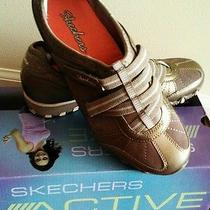 Skechers Bikers-Rock Steady Women's Shoes Grey/taupe 22367tpe Photo