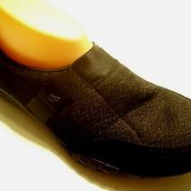 Skechers Black Mesh Suede Memory Foam Athletic Tennis Sneaker Shoes Size 9.5 Photo