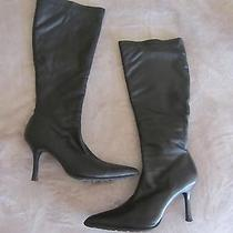 Skechers Black Modern Tall  Boots Size 7 Photo