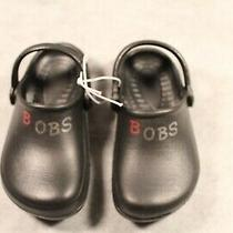 Skechers Bobs Black Croc Shoes Boys Youth 2 Photo